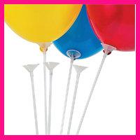 Ballonstokjes (cup & sticks)