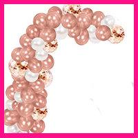 Rosé goud ballonnen