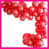 Rode ballonnen