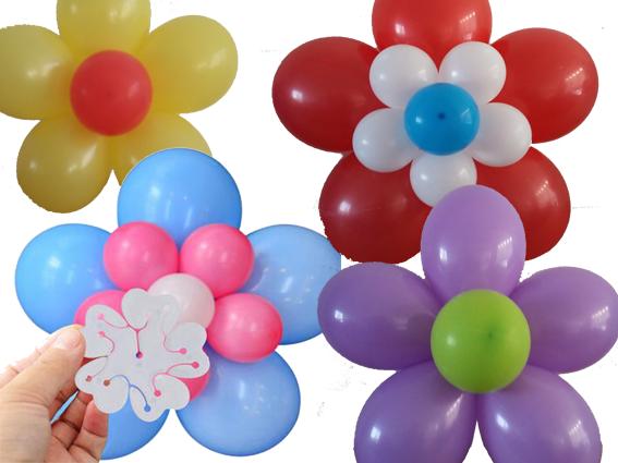 Hedendaags Zo maak je een bloem van ballonnen AZ-75