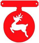 tussenstukje kerst voor eigen slinger