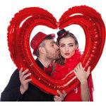 foto frame hart rood
