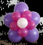 Bloem van ballonnen DIY