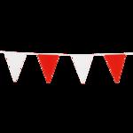 Vlaggenlijn rood-wit