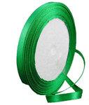 satijn lint groen 6 mm