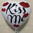 Kiss-Me-folieballon-45-cm
