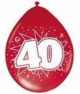 40-jaar-Robijn-Ballonnen-8-stuks