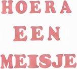 Foam-stickers-Hoera-een-meisje-roze