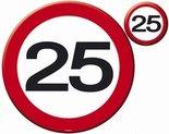 25-jaar-Verkeersbord-Placemats+-onderzetters-4-st