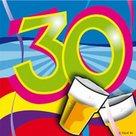 30-jaar-Swirl-Servetten-20-stuks