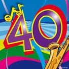 40-jaar-Swirl-Servetten-20-stuks