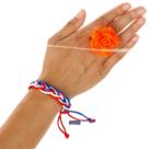 Armbandje-vlecht-Rood-Wit-Blauw