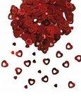 Tafeldecoratie-sier-confetti-hartjes-rood-14-gram