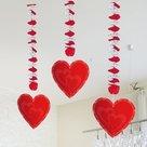 Hangdecoratie-Hart-Rood-3st