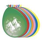 11-jaar-ballonnen-8-stuks