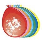 13-jaar-ballonnen-8-stuks
