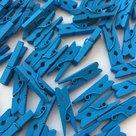 knijpers mini blauw