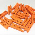 wasknijpers mini oranje