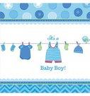 Tafelkleed jongen baby boy