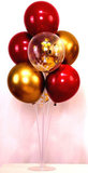 doorzichtige standaard voor ballonnen