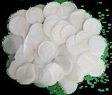 metallic confetti wit