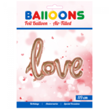 oneword folieballon 'love'