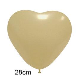 Ivoor Hart Ballon (28cm)