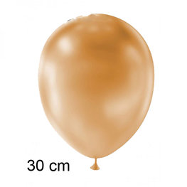 Peach (perzik) Metallic ballon (30cm)