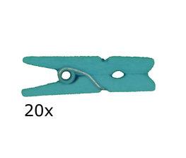 Aqua Wasknijpers mini, 20 stuks