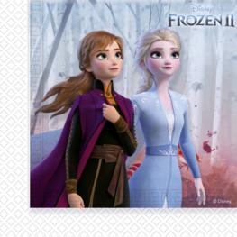 Frozen 2 Servetten 33x33cm, 20 stuks