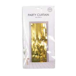 Goud Party Deurgordijn, 240x100 cm