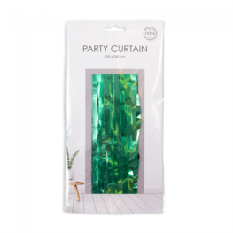 Groen Party Deurgordijn, 240x100 cm