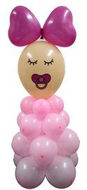 DIY Balloon kit Baby Girl