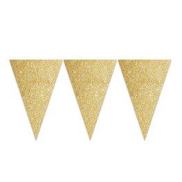 Goud glitterslinger, 6 meter