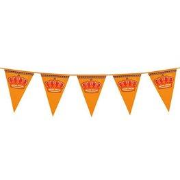 Reuzen vlaggenlijn Koningsdag, 8 meter