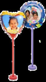Printbare ballon rond, 18cm