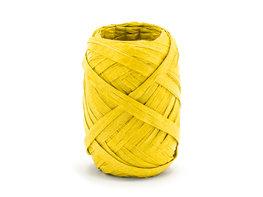 Geel Raffia lint, 5 mm, 10 m