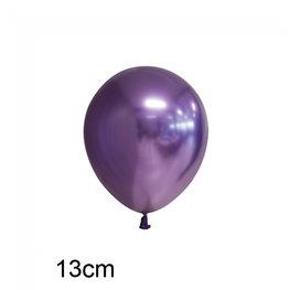 Paars Chrome kleine ballon (13cm)