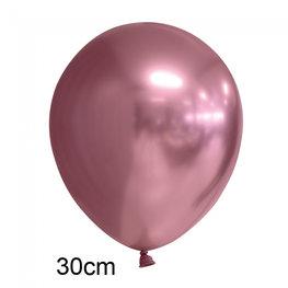 Roze Chrome ballon (30cm)