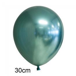 Groen Chrome ballon (30cm)