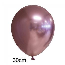 Rosé goud Chrome ballon (30cm)