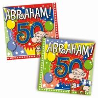 Servetten Abraham Explosion, 20 stuks