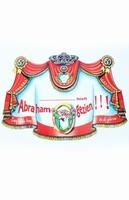 Deurbord ... heeft Abraham gezien