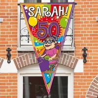 Puntvlag Sarah Explosion 150x100cm