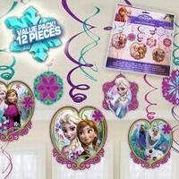 Frozen Disney hangdecoratie, 12 stuks