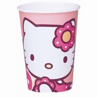 Hello Kitty Bekers, 10 stuks, 200ml