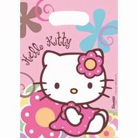 Hello Kitty Uitdeelzakjes, 6 stuks