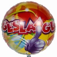 Geslaagd Folieballon