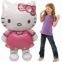 Hello Kitty Folieballon Airwalker