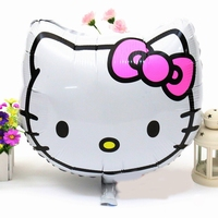 Hello Kitty hoofd Folieballon